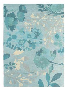 Teppich gezeichnet  teppich floral petrol - Google-Suche | Einrichtung & Deko ...