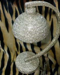 Finally finished this lamp. It's 20 inches tall and it took me forever!! Available on my Etsy Store!!! #artlovers #designer #artwork #lamp #lamps #accentlighting #tabledecor #decor #blingdecor #bling #blingbling #fineart #newyorkcity #lasvegas #miami #texas #sandiego #art #artsy #instagram #instaart #instaartist #instagood #furniture #ilovelamp #instavideo