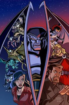 Gargoyles Gargoyles Characters, Gargoyles Cartoon, Disney Gargoyles, Cartoon Shows, Cartoon Art, Disney Love, Disney Magic, Saturday Morning Cartoons, Dark Fantasy