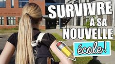 Girlyaddict : Survivre à sa nouvelle école Youtubers, Back To School, Diy And Crafts, Beautiful, Beauty, Nocturne, Baby Born, Entering School, Beauty Illustration