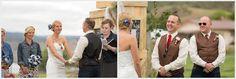 outdoor colorado wedding venue bride groom laughing montrose co