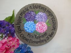 Personalized teacher gifts! Add names and dates!
