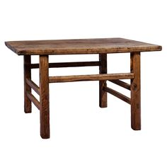 Handcrafted from reclaimed elm wood, this wonderful coffee table is perfect for your TV room or living room. Great for designing your home and practical use, these wonderfully vintage tables are a great addition to your home.