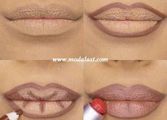 Dudaklarınız Daha Dolgun Görünsün http://www.modalast.com/dudaklariniz-daha-dolgun-gorunsun dudakları daha dolgun göstermek için dudak kalemi ve doğal renkte bir ruj kullanabilirsiniz.