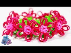 Como Hacer Pulseras de Gomitas con Flores FACIL Tutorial Rainbow Loom DI... Hoy te quiero compartir estas #pulseradegomitas con #flores de #gomitas Re chulas y re FACIL https://www.youtube.com/watch?v=osIgurDepgQ&list=UUWVl4iD-12M2WLHwMIwQ05Q