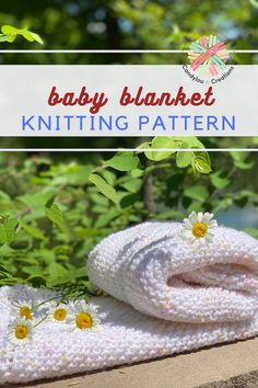Lion Brand Basic Stitch Baby Mittens Knitting Pattern, Knitting Needle Sets, Baby Hats Knitting, Easy Knitting Patterns, Soft Baby Blankets, Knitted Baby Blankets, Yarn Projects, Knitting Projects, Sweet Dreams Baby