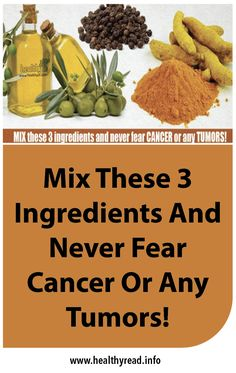 We know that cancer is a fatal disease which destroys thousands of lives every year. Chemotherapy is the most common form of treatment and it kills the cancer cells but also ruins the healthy parts of the body. Thankfully, there are natural treatments which can help defeat cancer. The following three ingredients can be combined …