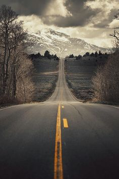 Road in the hills