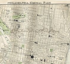 Antique Maps Philadelphia 20 Best Philadelphia Maps and Images images in 2017 | Blue prints