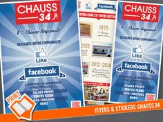Flyers & Stickers Chauss 34