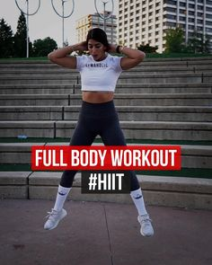Hiit Workout Videos, Circuit Training Workouts, Hiit Workouts For Beginners, Gym Workout Chart, Full Body Workout At Home, Hiit Workout At Home, Butt Workout, At Home Workouts, App Workout