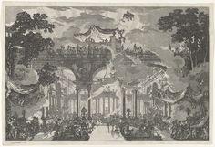 De tempel der liefde, Louis Jean Desprez, c. 1784 - c. 1792