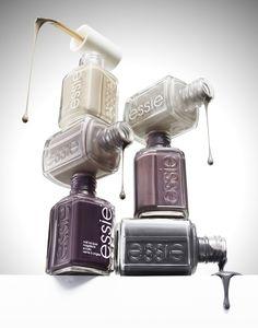0010 Still Life Product Photographer nail varnish polish essie blob drip