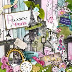 #Scrapbooking #Paris #Love #Romance