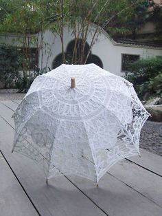 Flavor Humble Family Garden Party Handmade Cotton Battenburg Lace Parasol Wedding Souvenirs Guests Decoration Umbrella Fragrant In