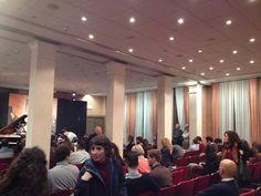 la nuova sala dell'hotel Plaza adibita ai concerti di Padova Jazz Festival 2015