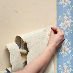 5 moyens faciles d'enlever le papier peint   Selection