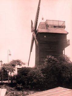 Le moulin de la galette vers 1924