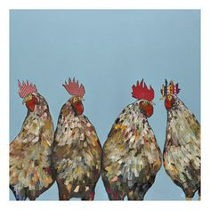 Found it at Joss & Main - Roosters Canvas Print