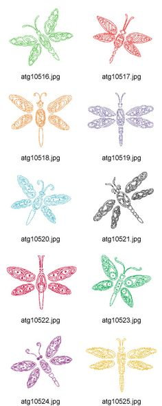 How to draw or create dragonflies.