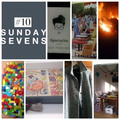 Mudlarks and Magpies: Sunday sevens #10