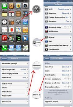 Comment agrandir le taille du texte sur iPhone ou iPad [Tutoriel]