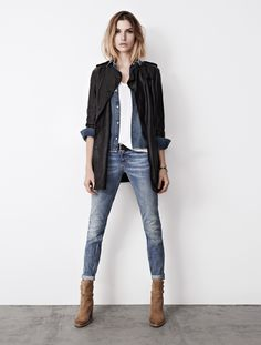 Denim and leather is a win win sort of situation. http://www.adoreme.com