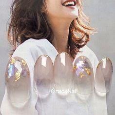 spring nail design nail decor a Korean Nail Art, Korean Nails, Bridal Nails, Wedding Nails, Japan Nail Art, Asian Nails, Kawaii Nails, Pedicure Nail Art, Nail Nail