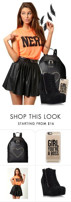 """""""Girl, you're a boss"""" by rusher-decorazon on Polyvore featuring moda, Love Moschino, Casetify, Boohoo y BB Washed"""