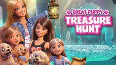 BARBIE - Great Puppy Treasure Hunt