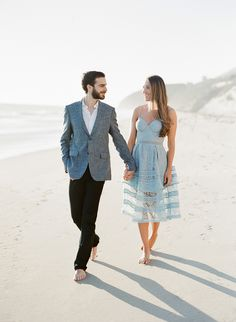 Beach engagement shoot: Photographer : Jose Villa Photography - josevillaphoto.com   Read More on SMP: http://www.stylemepretty.com/2017/03/30/a-stunning-beach-engagement-with-a-mastermind-behind-the-lens/