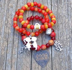 Perfect for Kip Moore fans...Country Music Stretch Stack Bracelets by SassyBelleWares