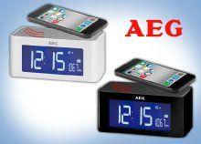 AEG rádiós óra beépített indukciós hangszóróval telefonod kihangosításáért
