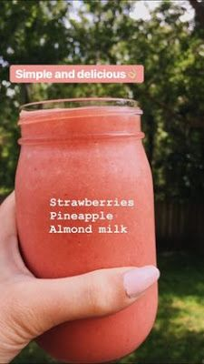 smoothie recipes for kids / smoothie recipes ; smoothie recipes for kids ; smoothie recipes with yogurt ; Easy Smoothie Recipes, Easy Smoothies, Smoothie Drinks, Good Healthy Recipes, Detox Drinks, Healthy Drinks, Healthy Life, Healthy Snacks, Healthy Eating
