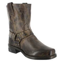 Made in the USA - Frye Men's Harness Motorcycle Boots