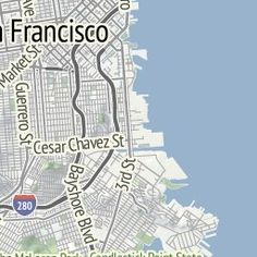 type in a location, it generates a map in watercolor that you can print and frame.....   maps.stamen.com
