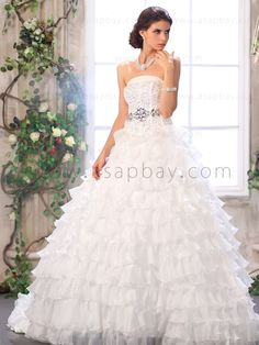 Ivory Ball Gown 2013 Wedding Dresses