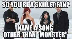 Awake and Alive  Rise  Comatose  Whispers in the dark Looking for angles  Rebirthing  The Last Night Hero Better than drugs  Yours to hold Lucy Freakshow . . .Must i go on i can name every song on their last 3 albums including the extra songs.
