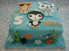 Octonauts by Sugar Nelly (Isabel), via Flickr. My son wishes Octonauts-theme for his birhtday.
