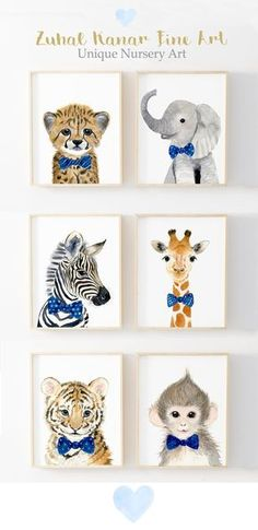 ideen jungen dschungel Safari Nursery Prints, Set of 6 Nursery decor Nursery wall Art Safari Nursery Prints Animal Prints Nursery Jungle nursery Nursery wall art