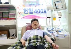 400번의 헌혈, 사람과 사회를 위한 배려의 꾸준한 실천