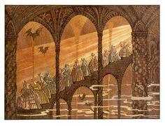 Twelve Dancing Princesses by Errol le Cain