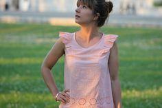 Callie top // See Kate sew // Le fil a coudre d'Anna