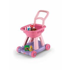 "Fisher-Price Shopping Cart - Pink - Fisher-Price - Toys ""R"" Us"