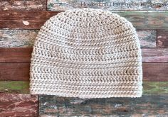 Ring Stitch Beanie Crochet Pattern (CAL for a Cause) - Hooked on Homemade Happiness Crochet Poncho Patterns, Crochet Square Patterns, Crochet Stitches, Crochet Baby Hats, Crochet Beanie, Free Crochet, I Love This Yarn, Beanie Pattern, Beautiful Crochet