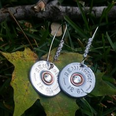 Check out this item in my Etsy shop https://www.etsy.com/listing/209141847/12-guage-shotgun-shell-earrings-with