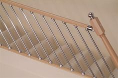 Axxys Chrome 6 x Rake Spindles - Axxys Chrome Stair Rake Tubes 6 Pack for Modern Staircase Look - : Shaw Stairs Ltd Metal Spindles Staircase, Staircase Banister Ideas, Staircase Railing Design, Painted Staircases, Metal Stairs, Bannister Ideas, Banisters, Stairs Refurbishment, Staircase In Living Room