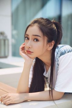 Pretty Asian, Beautiful Asian Women, Kids Hairstyles For Wedding, Angelababy, Beauty Forever, Female Actresses, Chinese Actress, Pretty People, Asian Beauty