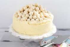 Cupcakes & A White Chocolate Malteser Cake - Good Food Channel - Ren Behan Food | renbehan.com