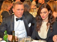 2012 Britannia Awards from Party Pics: Hollywood Daniel Craig and wife Rachel Weisz enjoy BAFTA L.'s annual event at the Beverly Hilton. Find out what funny Craig told us about a gay James Bond here! Daniel Craig Rachel Weisz, Daniel Craig Suit, Daniel Craig James Bond, First Ladies, Rachel Weiss, Daniel Graig, James Bond Suit, Best Bond, Fiction
